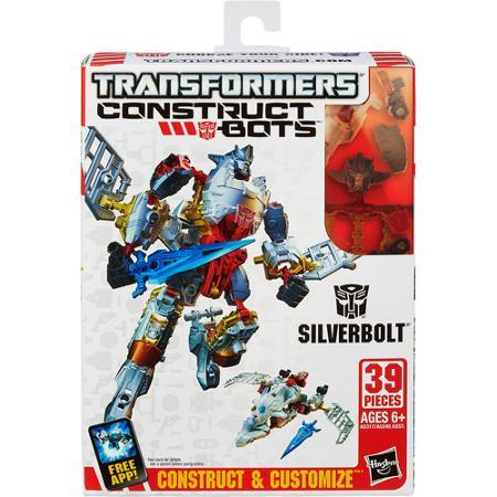 Transformers Construct-bots Scout Class Silverbolt Buildable HASBRO