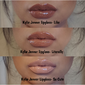 Kylie Cosmetics Lip Gloss - Kit com 3 Gloss Nude