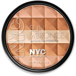 NYC.  Pó facial New York Color Sun 'N' Brown Bronzing Powder, 706 Hamptons Radiance