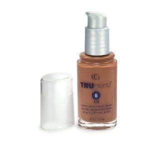 Base Facial TruBlend Liquid Foundation Toasted Almond 470 - CoverGirl