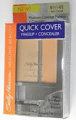 Sally Hansen,  Maquiagem para Olheiras, medium beige, Quick Cover Makeup + Concealer