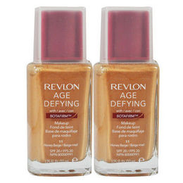 Base Facial Age defying Foundation , com Botafirm, spf20, Honey Beige 11-Revlon (cada)