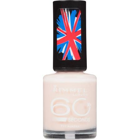 Rimmel London esmalte de unhas 60 Seconds Nail Polish  711 Alaska 0.27 fl oz (8 ml)