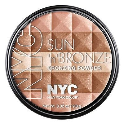 NYC.  Pó facial New York Color Sun 'N' Brown Bronzing Powder, 706 Ramptons Radiance