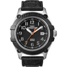 RelogioTimex Quick-Date Expedition WR 100 T49806 9J, Night-Light Alarm