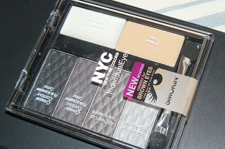 NYC -New York Color -Eye Shadow - Individua lEyes 941 Smokey Browns palette