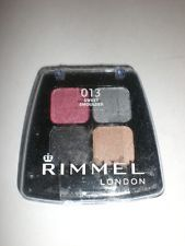Rimmel London Colour Rush Sombra para os olhos  Quad Eye shadow - 013  Sweet Smoulder