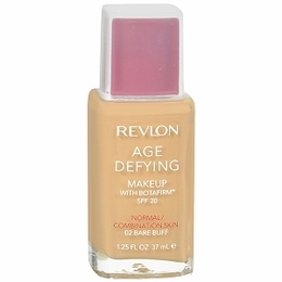 Revlon Base Facial Age Defying com Botafirm, Normal combination, SPF 20, 37ml., 02 Bare Buff - Revlon