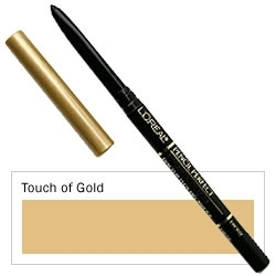 L' Oreal studio pencil perfect automatic eyeliner 1.28g., Touch of Gold