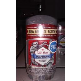 Old Spice Desodorante /Antitranspirante Importado Masculino, Wolfthorn, 73g