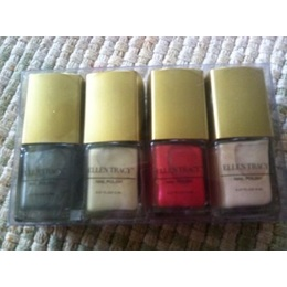 Ellen Tracy  Esmalte  de Unhas Collection, Set com 4 Diferentes cores, 12ml cada