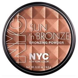 NYC.  Pó facial New York Color Sun 'N' Brown Bronzing Powder, 710 Sun' N' Bronze
