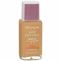 Revlon, Base Facial para o Rosto Age Defying SPF 20, com Botafirm, 37ml., Normal combination - 15 Early Tan