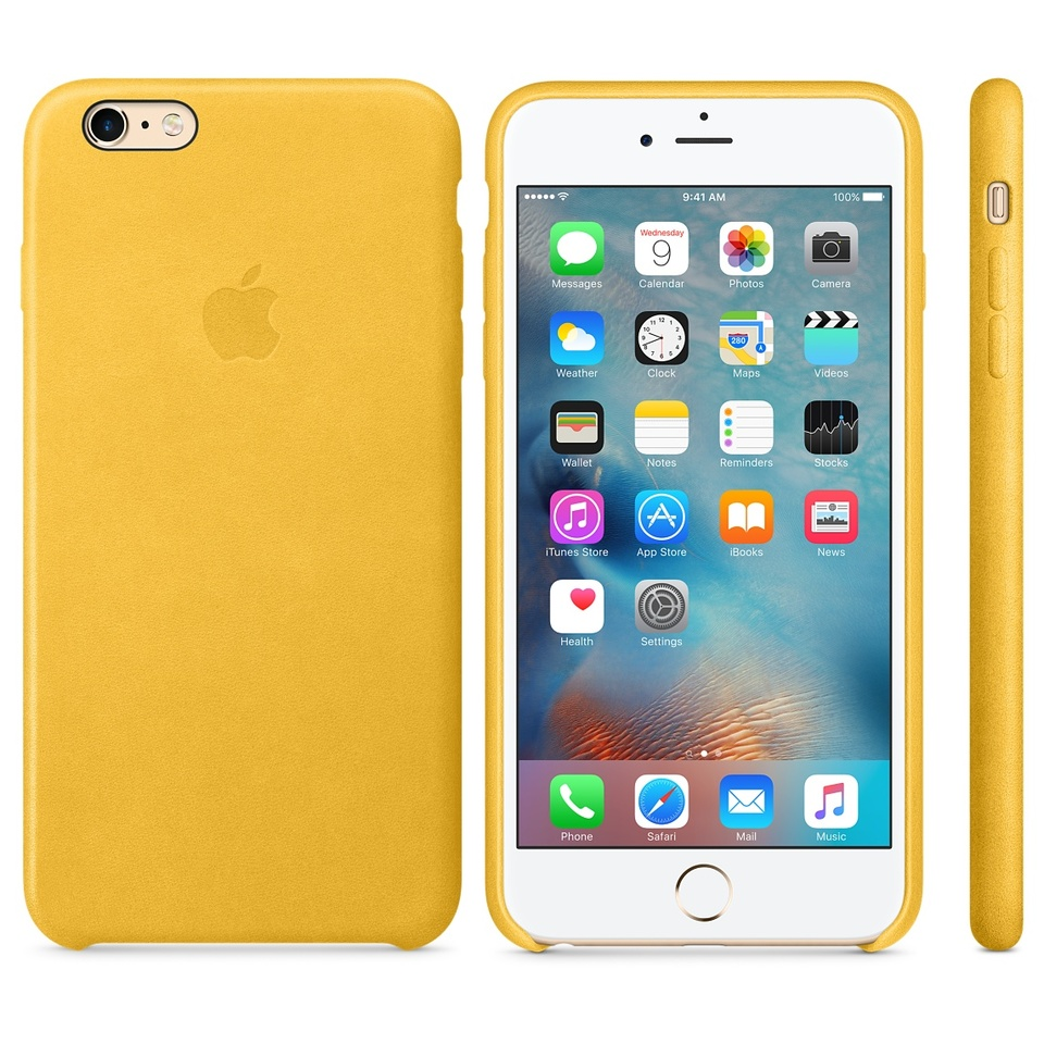 CASE SILICONE AMARELO - IPHONE ORIGINAL