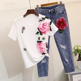 Conjunto Flowers Tumblr