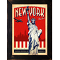 QUADRO RETRÔ NEW YORK TRAVEL POSTER 2