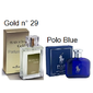 Traduções Gold nº 29 Masculino 100 ml Referencia Olfativa Polo Blue