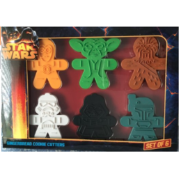Cortador de Biscoitos Star Wars Gingerbread