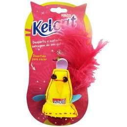 95f6d955c78c8 Brinquedo Kelcat Pássaro Colorido com Catnip para Gatos