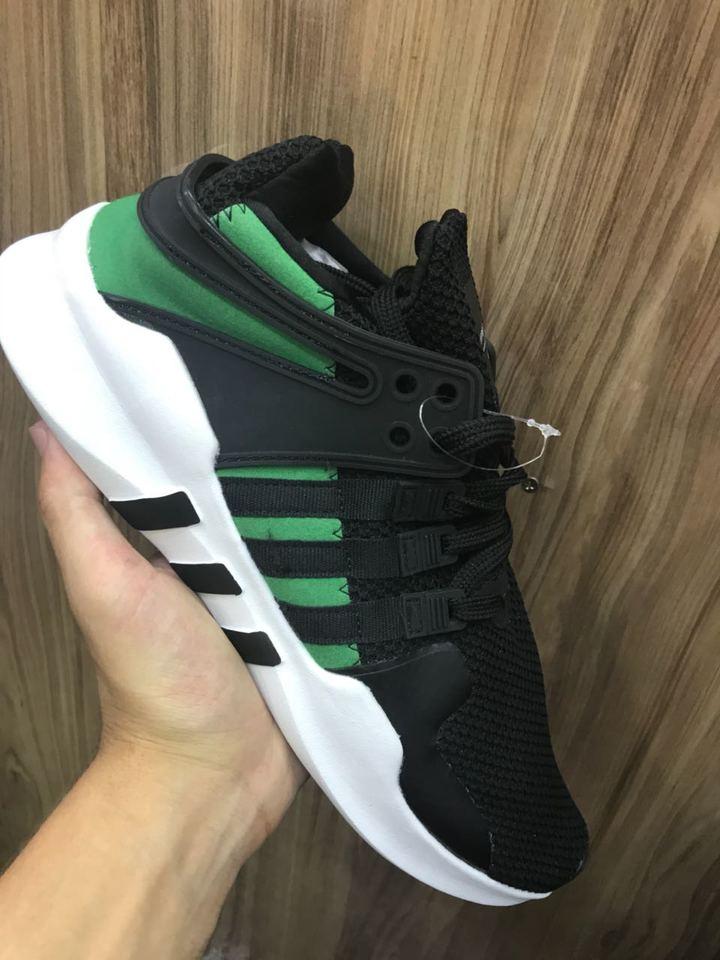 super popular 3f538 f7483 ... tenis adidas eqt preto com verde masculino tenis adidas eqt preto com  verde masculino adidas eqt adv racing shoes energy aqua ...