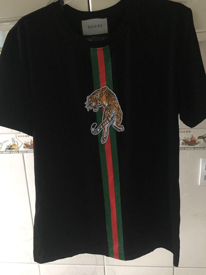 b5ea22b5ed0ba Camiseta Gucci Hombre Outlet
