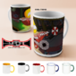 Caneca Cerâmica Simpsons + The Avengers + Resident evil