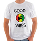 "CAMISETA MASCULINA ""LION GOOD VIBES"" - (PRÉ-VENDA)"