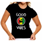 "BABY LOOK ""LION GOOD VIBES"" - (PRÉ-VENDA)"