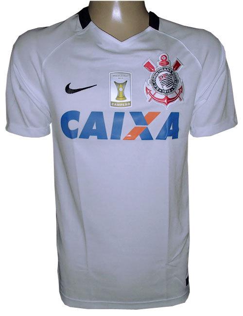 Camisa Corinthians Nike Branca 2016 - MWgrifes - Aqui é Top! 17035e78eae44