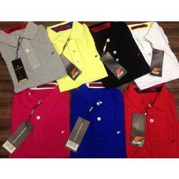 921768272 Kit 3 Camisas Polo Ellus Lisa - Cores a Escolher