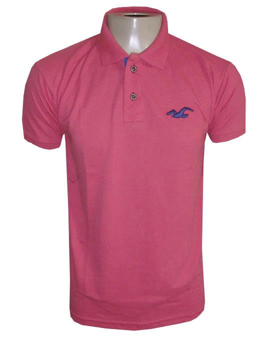 Camisa Polo Hollister Salmão Lisa - MWgrifes - Aqui é Top! b842e88dde2f2