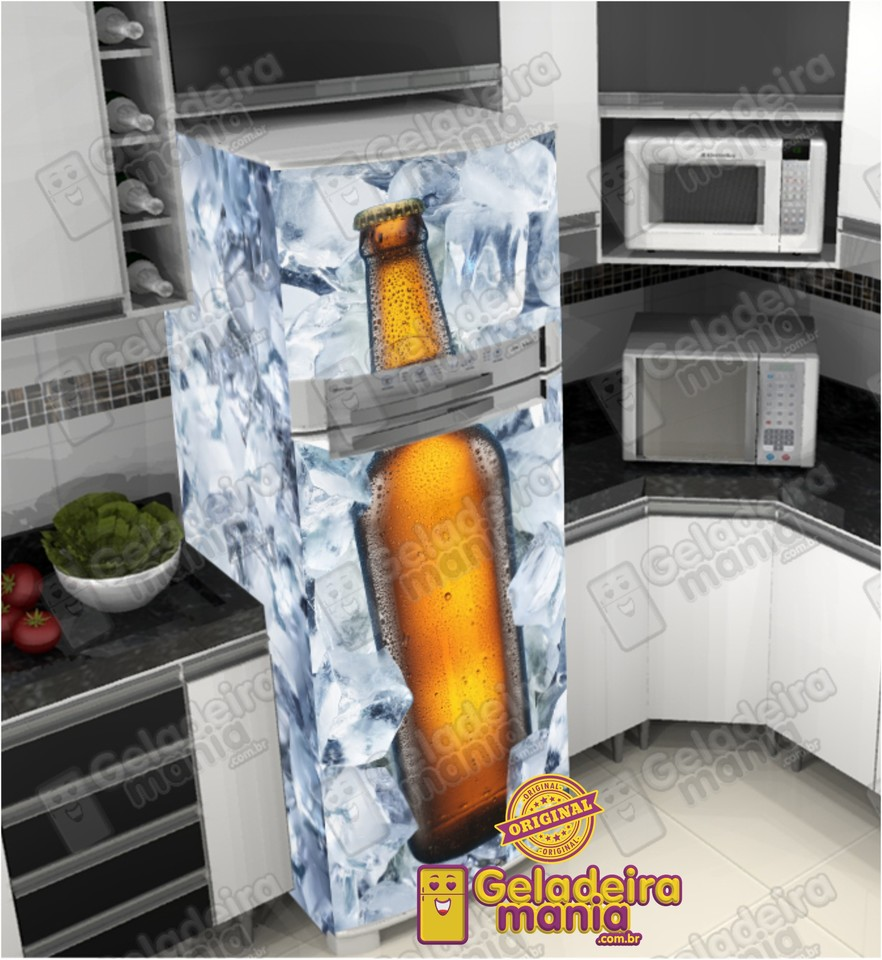 Adesivo Anticoncepcional Evra ~ Adesivo Envelopamento de Geladeira BE075 Cerveja