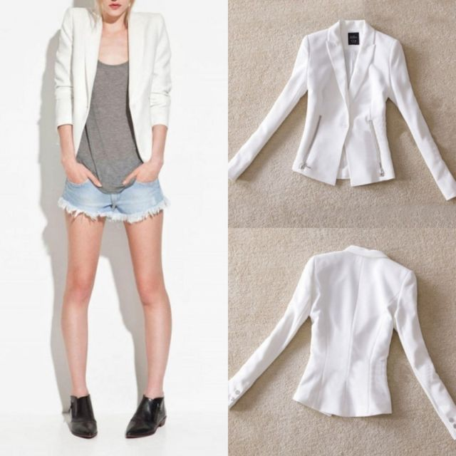 Blazer Ivory - Loose fit!