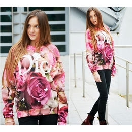 Pullover Rose