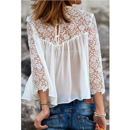 Blusa Flower rendada