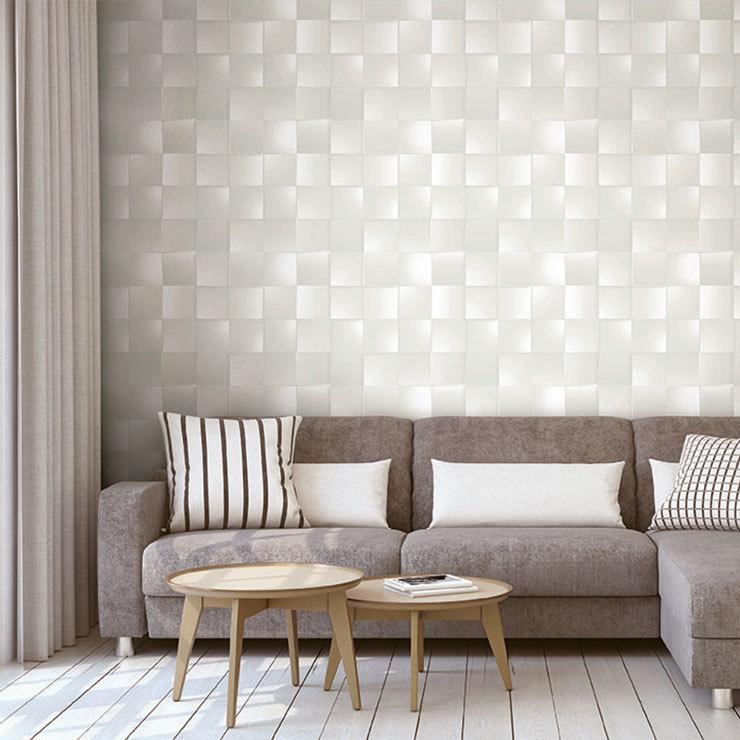 Papel de parede 3d vin lico dimens es bobinex quadrados for Papel vinilico para pared
