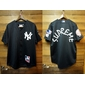 Jersey baseball SUPREME x New York Yankees - Majestic