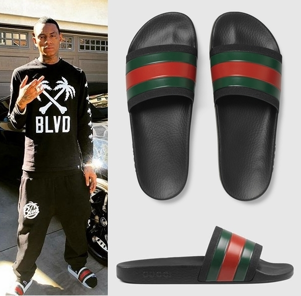 Chinelos GUCCI