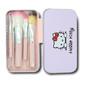 Estojo de pincéis Hello Kitty 7 peças
