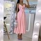 Vestido longo rodado elegante
