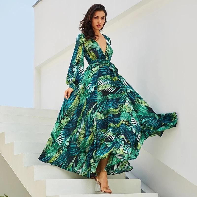 97ab437b48a5 Vestido longo bordado festa - Importados do Insta