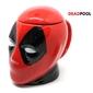 Caneca 3D Cabeça do Deadpool