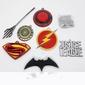 Kit colecionador com 7 pingentes DC Comics