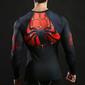 Camisas manga longa do Homem-aranha e do Batman