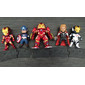 KIT com 5 Bonecos - Marvel Comics