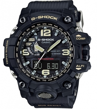 c22dceae3eb RELÓGIO CASIO G-SHOCK MUDMASTER TOUGH SOLAR GWG-1000-1ADR PRETO ...