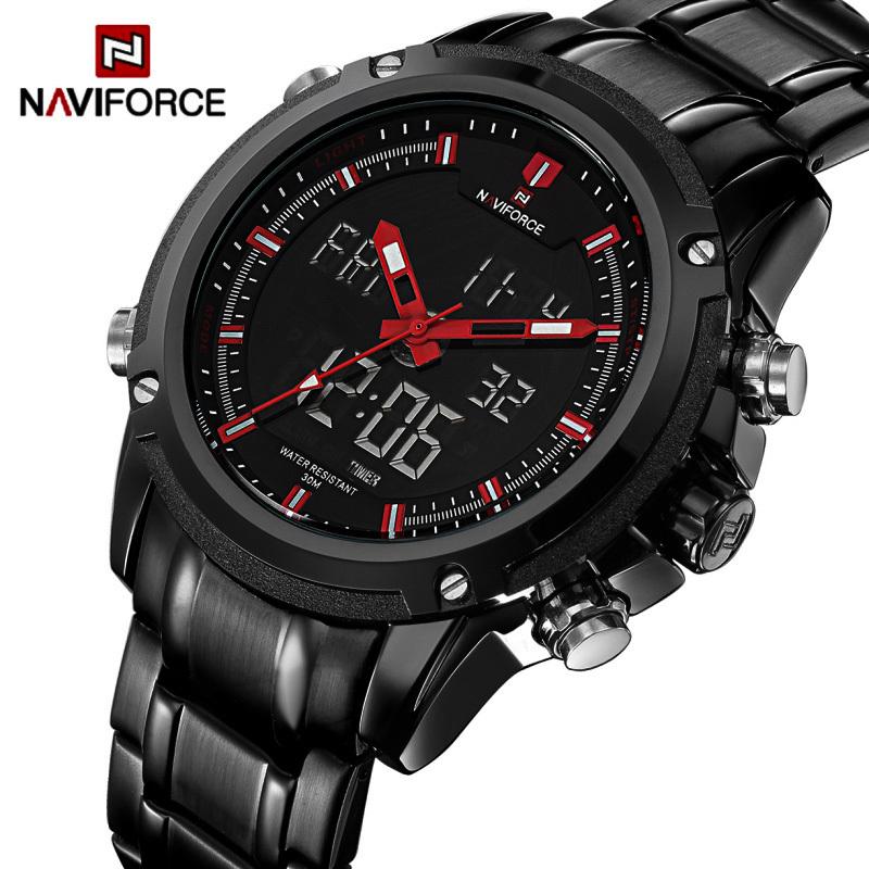 22a1650128de2 Relógio Naviforce Black Metal - Eletrosferas.com