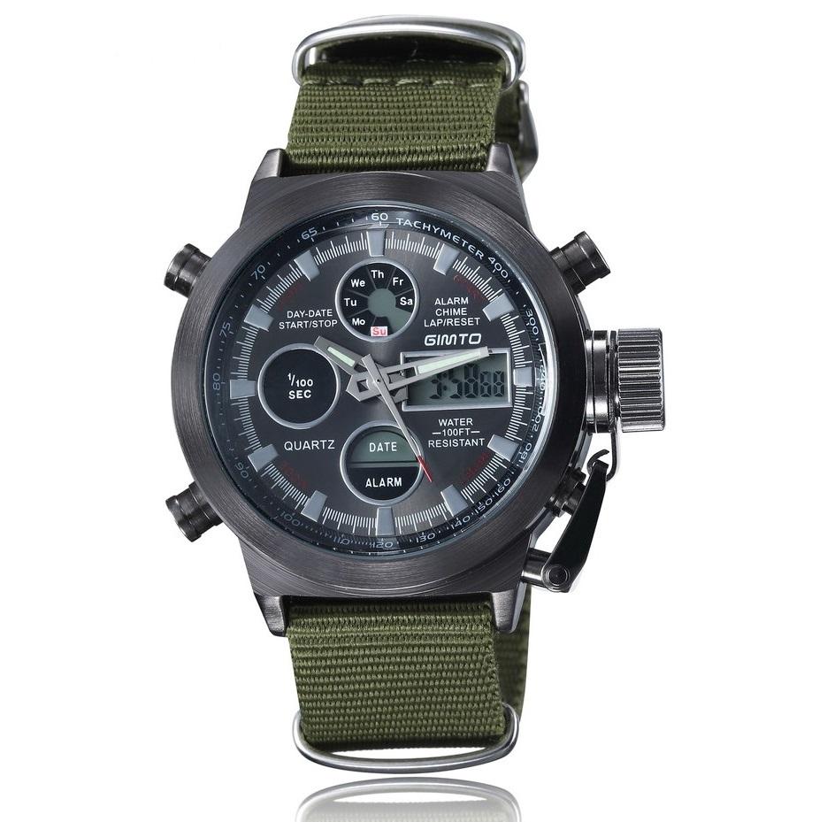 17975e4af2e Relógio Militar Gimto G-201 - Eletrosferas.com