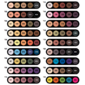 Paleta de Sombras - Palette 5 Cores - Make Up Atelier Paris