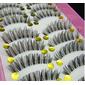 Kit com 10 pares de cilios postiços X8